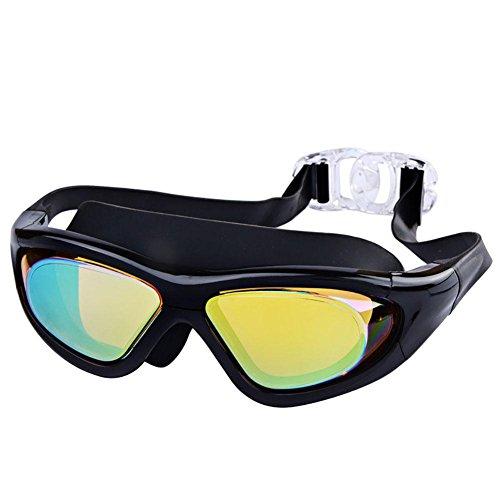 Yomeni polarisées Sports Lunettes de soleil, TR90Lunettes de soleil incassables pour homme et femme Moto, cyclisme, conduite, course à pied, 5XstgzGMOS, Black&Red Frame