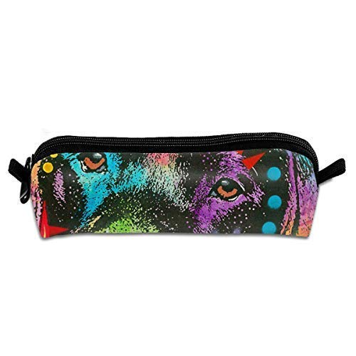 Dean Russo Labrador Crown Garden Flag Makeup Case Travel Cosmetic Brush Accessories Toiletries Pouch Bags Zipper Resistance Carry Handle Power Lines Hanging Handbag Documents Dean Oxford