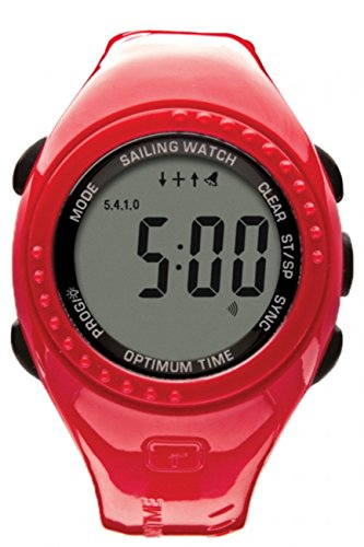 Optimum Time OS Series 11 Ltd Edition Sailing Watch RED 1126 Colour - Red