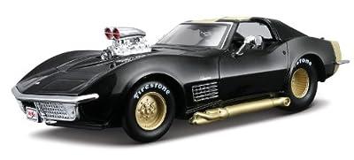 Maisto 531355 ProRodz Chevrolet Corvette '70 - Coche a escala 1:24 (varios colores) de Maisto