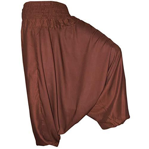 PANASIAM Aladin Pants Plain Brown XL