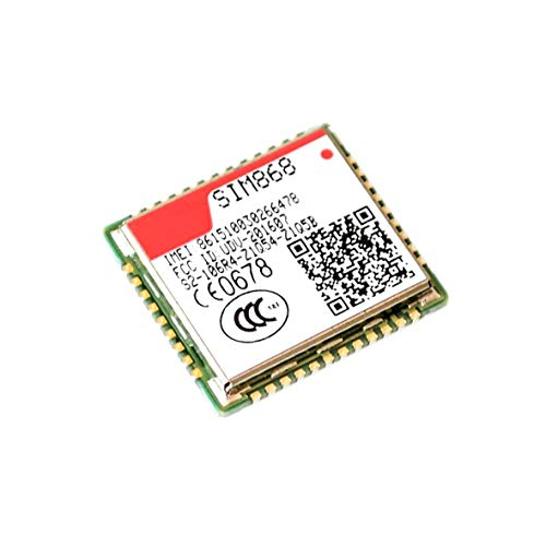 DIYUKMALL SIM868 gsm GPRS Bluetooth GNSS, SMS gsm Module,Instead of SIM808 SIM908