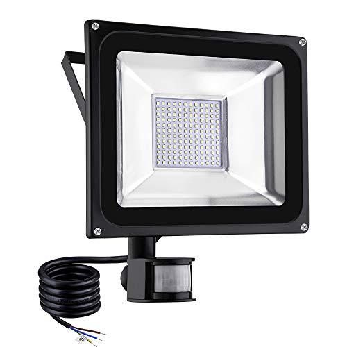 Viugreum Foco LED con Sensor de Movimiento 100W, Foco proyector LED, Iluminación...