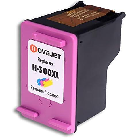 Novajet Rigenerata HP 300XL Cartuccia d'inchiostro Tri-colore ad alta capacità