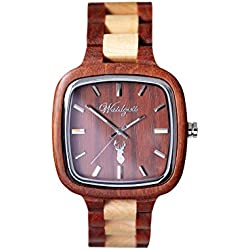 The Time Men's Watch Wood Inspiration Pioneer IS01