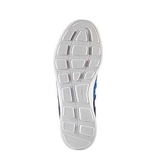 Chaussures Adidas de loisirs Cloud Mousse Swift Racer LMT Bleu/Blanc/Orange BLUE/FTWWHT/CONAVY