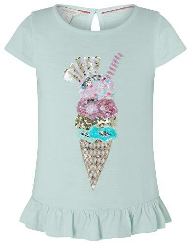Monsoon Kids Mädchen T-Shirt mit Eiswaffel Izzy Tageskleidung Overalls & Jumpsuits - 11-12 Jahre