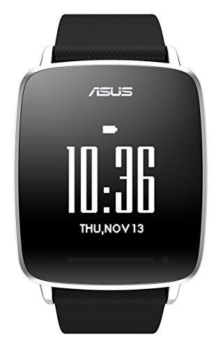 Asus VivoWatch (3,3 cm (1,3 Zoll) Touch Display, Bluetooth 4.0, 10 Tage Akku-Laufzeit, iOS, Android) schwarz