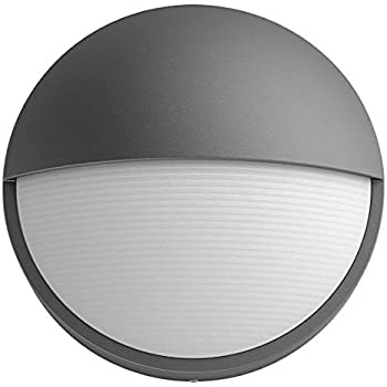 Philips 16455 93 16 Led Anthracite Outdoor Modern Round