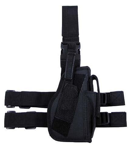 Etui à pistolet couleur noir avec cartouchière / idée cadeau