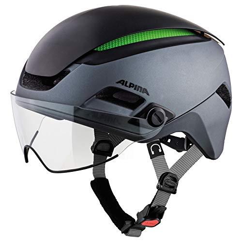 Alpina Unisex– Erwachsene Altona M Fahrradhelm, Charcoal-anthr, 57-62 cm