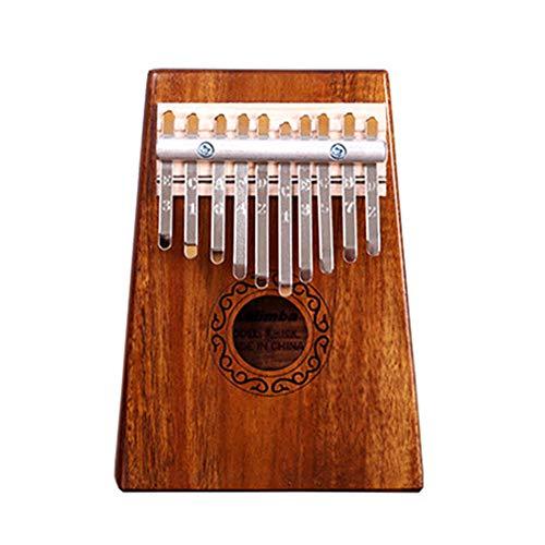 Leobtain Pulgar Piano Cuerpo de Madera Instrumento Musical Instrumento de Marimba Portátil...