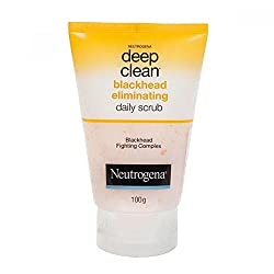 Neutrogena Deep Clean Black Head Eliminating Scrub, 100Gm