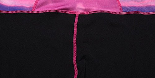 Lover-Beauty Damen Sport Leggings Yoga Pants Yoga Sporthose Training Sport Strumpfhosen Rosa