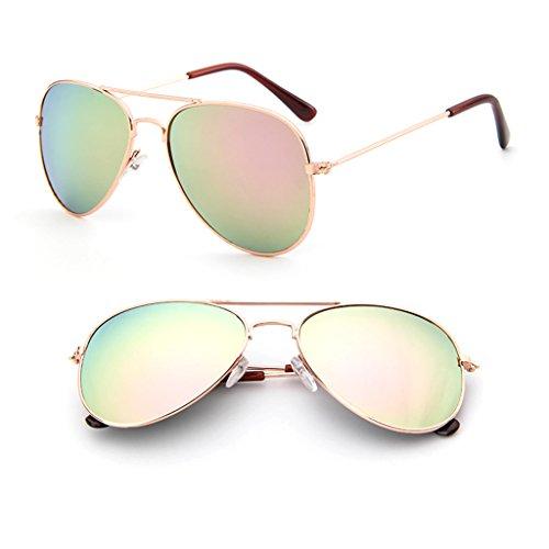 Logres 1 par de gafas de sol para niños y niñas con protección UV UV400