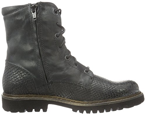Yellow Cab Officer W, Bottines à doublure froide femme Noir - Noir