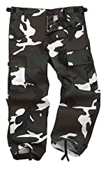 Colourful Camouflage Combat Trousers - Green (Age 6-7)