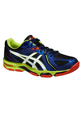 Asics Herren Gel-Volley Elite 3 Volleyballschuhe navy-white-lime