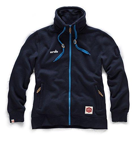 Scruffs t53034Größe 2X Große Zip Thru Fleece–Marineblau (Zwei Fleece-shorts)