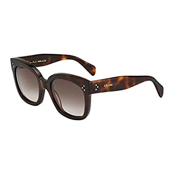 4165ead4eb1 Image Unavailable. Image not available for. Colour  Celine 41805 S 05LHA Tortoise  New Audrey Cats Eyes Sunglasses ...