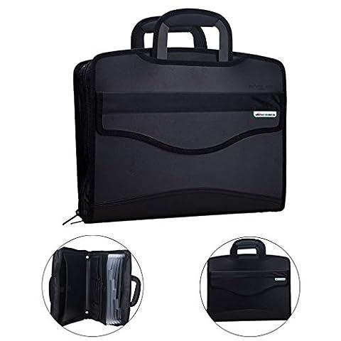 LY Neu Aktentasche Aktenmappe Dokumentenmappe Dokumententasche Businesstasche Konferenzmappe Handtaschen für Büro und