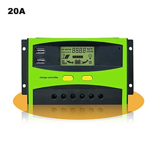 DonLucancy 20A-30A Solarregler Photovoltaic Panel Charger Intelligenter Regler. 30a Panel