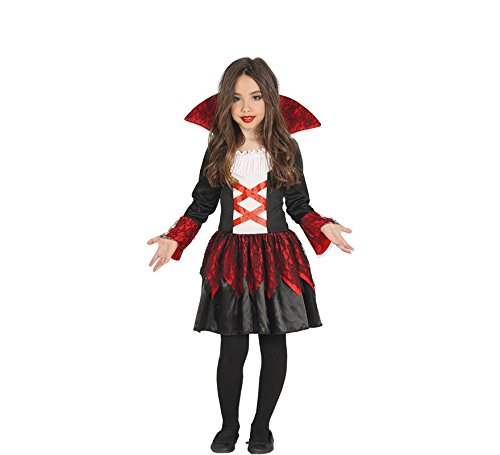 Imagen de disfraz de baronesa vampiresa para niña