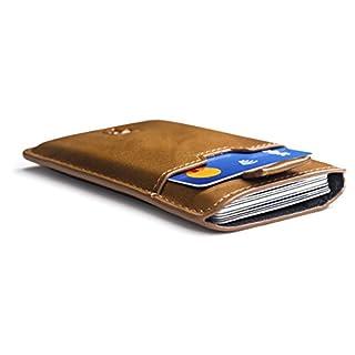 09efd3602f5e9 Slim Wallets Portemonnaie BOSTON RFID Schutz 12 Karten Mini Geldbeutel  Männer klein Kartenhalter Geldklammer Kartenetui Herren