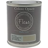 Fleur Paint 13403 - Pintura mineral (base agua, 750 ml) color dove grey