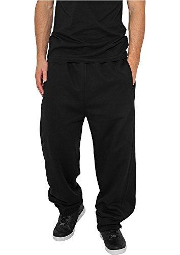 Urban Classics Sweatpant / Herren Jogginghose black in Größe: M + Original Bandana gratis
