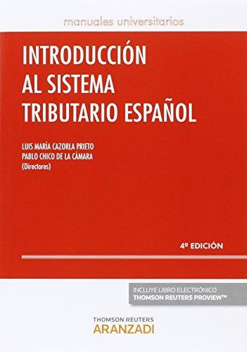 Introducción al sistema tributario español (4 ed. 2016) (Manuales)