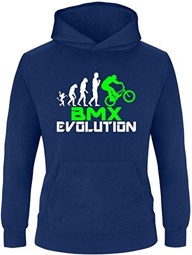 EZYshirt® BMX Evolution Kinder Hoodie