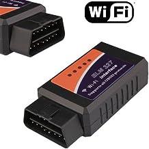 Mystore365 ELM327 - Tool diagnostico Wi-Fi, da auto, supporta protocolli OBII per BMW, Seat, Ford, (Honda Acura Ipod)