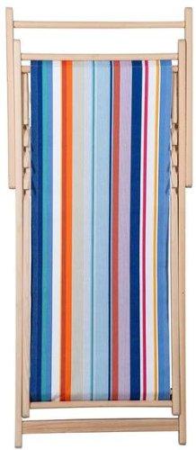 Chaise longue transat chilienne Sunbrella Canet en Roussillon - Les Toiles du soleil