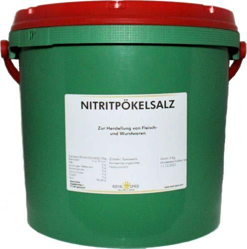 Nitritpökelsalz, Nitritsalz 5 Kg Eimer Pökelsalz