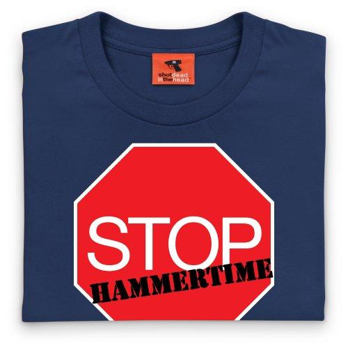 Stop! Hammertime T-Shirt, Herren Dunkelblau