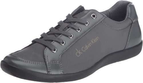 Calvin Klein Paco Nylon/Box Calf, Baskets mode homme