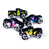 Die besten Fun Express Kinder Halloween-Kostüme - Fun Express - Monster Truck Erasers (12 Pack) Bewertungen