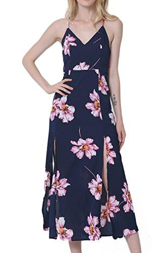 espaguetis-correa-raja-impresion-floral-maxi-vestido-de-las-mujeres-navy-xxl