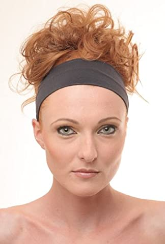 BLACK Stretch Microfiber Headband, Beauty, Fitness, All Head Sizes, for Any Activity, They Are comfortable, stylish, fine and absorptive. Hight quality of material. Very pleasant to touch. Head Band, Sweat Band,
