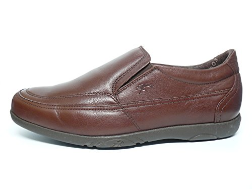 Fluchos, Mocassini uomo marrone Size: 43