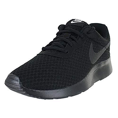 Nike wmns tanjun, scarpe da corsa donna, nero (black/white), 38 eu