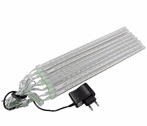 LED Lichterkette wasserdicht 8Röhren-led-lluvia Light ueberleben Dekorative Beleuchtung für Garten
