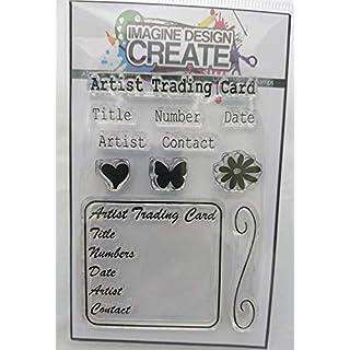 ATC Info 4 A7 Stamp Set by Imagine Design Create