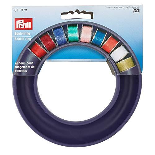 Prym Nähmaschinen 611978 Spulenring, Kunststoff, Violett, 19mm