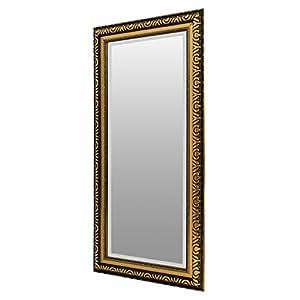 goldener spiegel wandspiegel barspiegel flurspiegel. Black Bedroom Furniture Sets. Home Design Ideas