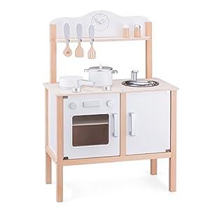 New Classic Toys 11050 - Cocina Moderna, Color Blanco