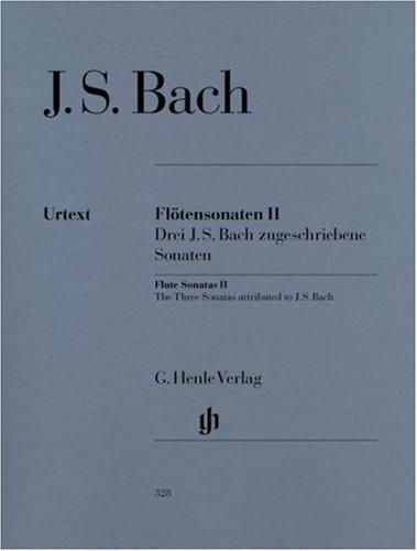 Sonates Volume 2 (BWV 1033/1031/1020) - Fl/Po