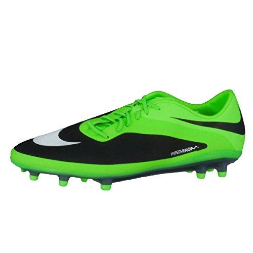 Nike Hypervenom Phatal Fg, Chaussures de Football homme Blanc