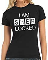 Touchlines Damen T-Shirt I AM SHER LOCKED Lady